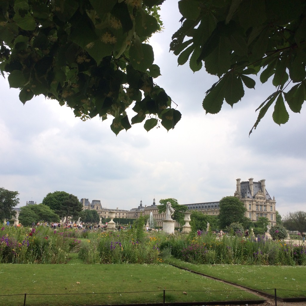 Louvre gardens
